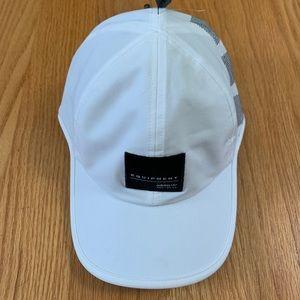White Adidas EQT hat